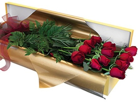 Long Stem Roses in an Exquisite Presentation Box