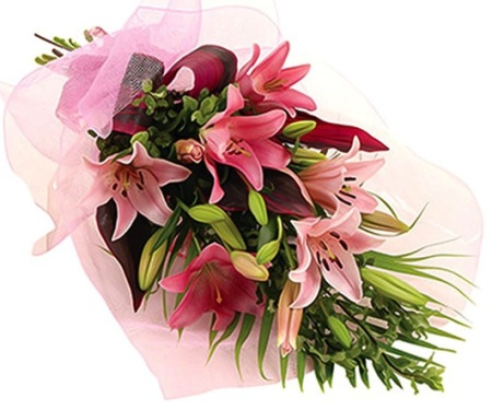 Bouquet of Asiatic Lilies